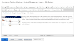 content management system allows easy content editing