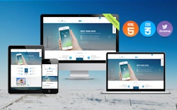 content management system with thousands of low-cost responsive themes available