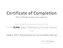 Learning Management System Custom Certificate of Completion