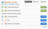 learning management system my courses